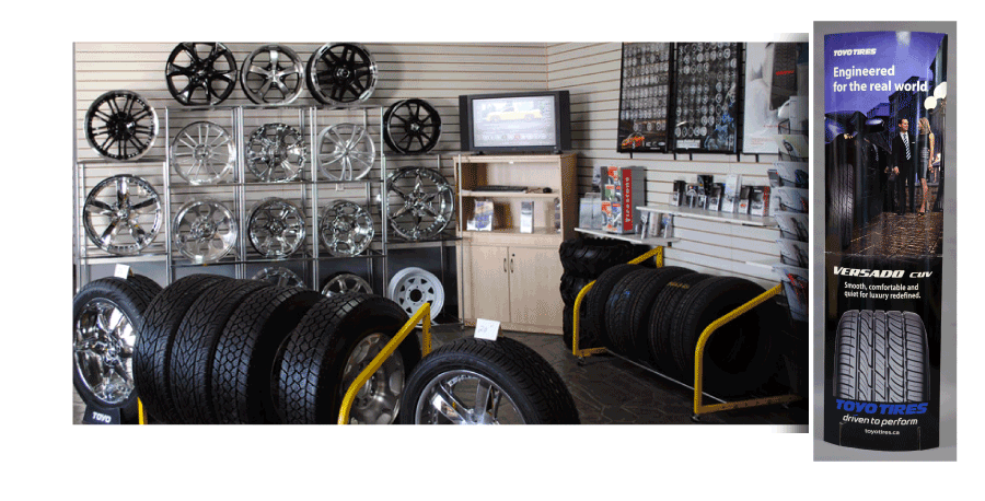 TIRE STORES